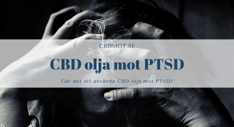 CBD olja mot PTSD