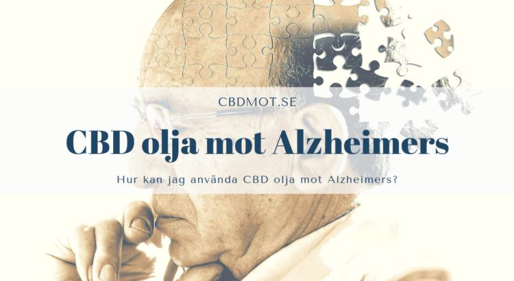 CBD olja mot Alzheimers